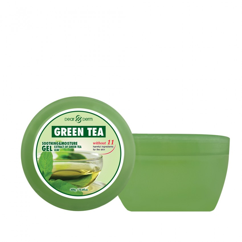 Dearderm Green Tea Soothing & Moisture Gel